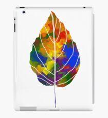 Rainbow Leaf iPad Case/Skin