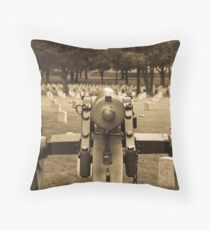 The Results of War Throw Pillow