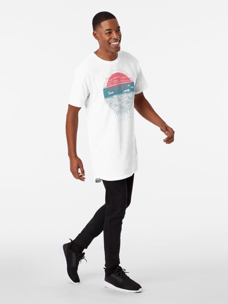 Vista alternativa de Camiseta larga El gran deshielo