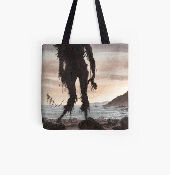 The Beach Ghost All Over Print Tote Bag