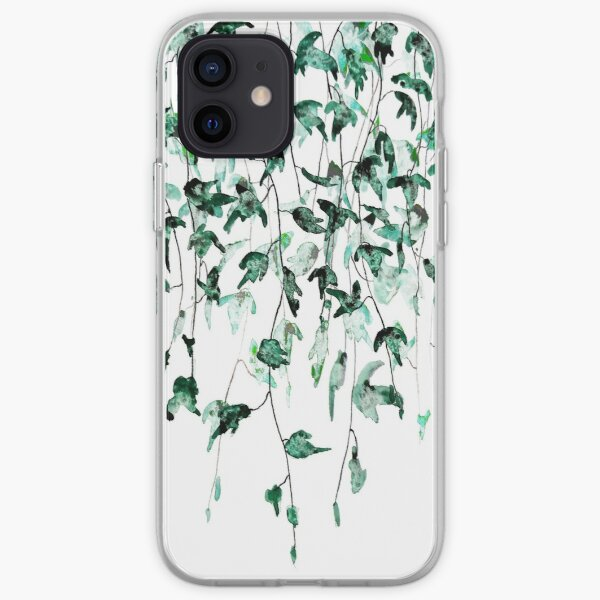 Aquarelle de lierre sur le mur Coque souple iPhone