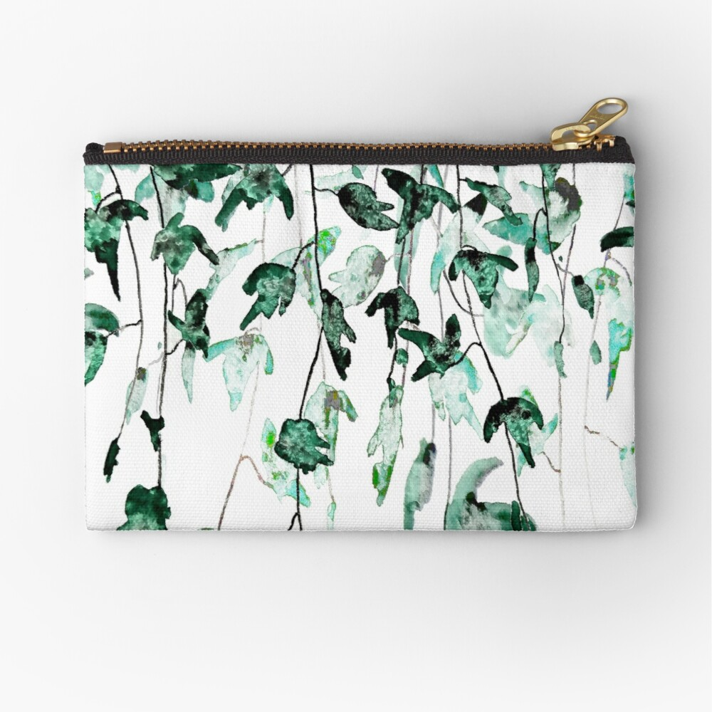 Ivy on the wall  Zipper Pouch