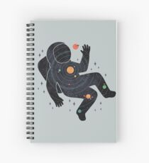 Inner Space Spiral Notebook