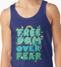 Freedom Over Fear Men's Tank Top