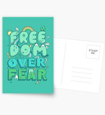 Freedom Over Fear Postcards