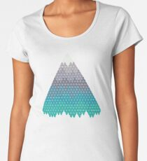 Many Mountains Women's Premium T-Shirt