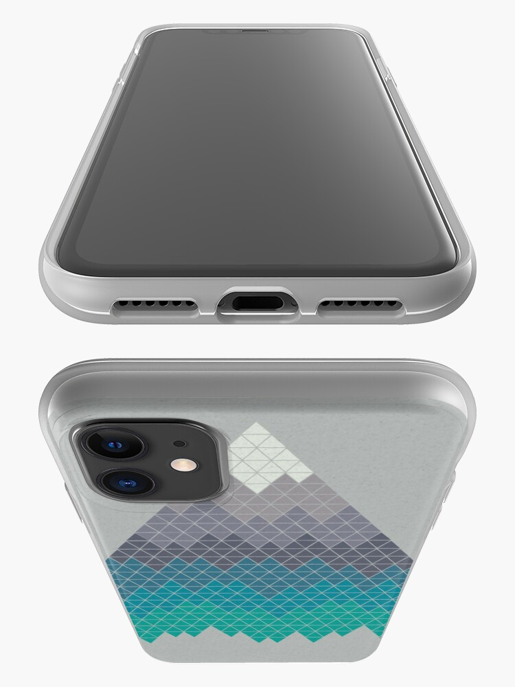 Alternate view of Many Mountains iPhone Case & Cover