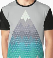 Many Mountains Graphic T-Shirt