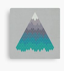 Many Mountains Canvas Print