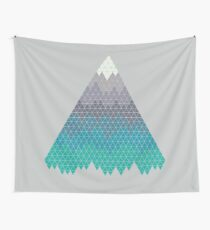 Many Mountains Wall Tapestry