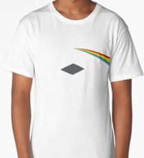 ethereum ETH prism refraction floyd rainbow light nerd bitcoin blockchain cryptochain currency internet award winning decentralized Long T-Shirt
