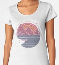 The Mountains Are Calling Women's Premium T-Shirt