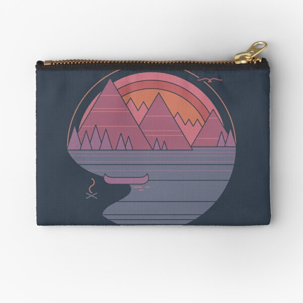 The Mountains Are Calling Zipper Pouch