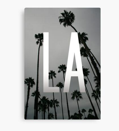 L.A. Palms Canvas Print