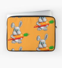 Rabbit with a carrot Laptop Sleeve