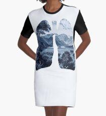Fresh Graphic T-Shirt Dress