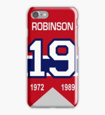 Larry Robinson - retired jersey #19 iPhone Case/Skin
