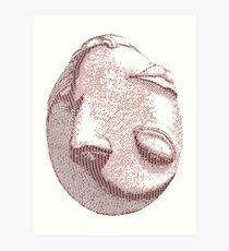 Crimson Behelit Art Print