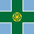 Derbyshire Flag Phone Cases by mpodger