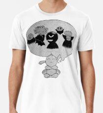 Puck the Thinker Men's Premium T-Shirt