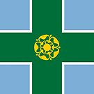 Derbyshire Flag Phone Cases II by mpodger