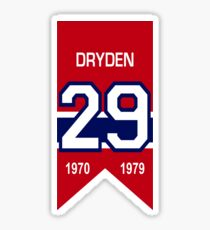 Kenny Dryden - retired jersey #29 Sticker