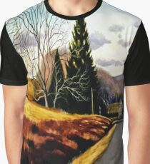 The Country Road Graphic T-Shirt