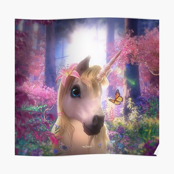 Sparkle the Unicorn Poster