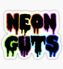 Neon Guts Sticker