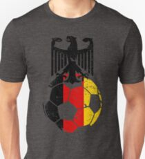 Germany Fussball-Bund Football Soccer Sports Flag Design Unisex T-Shirt
