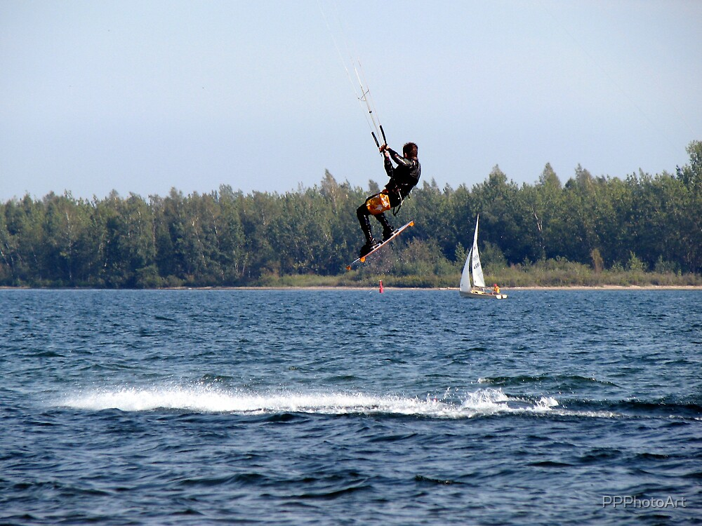 Para Sailing by PPPhotoArt