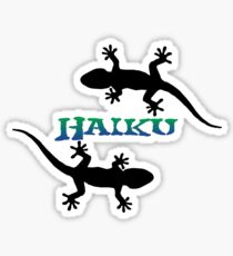 Haiku Maui Hawaii Geckos Sticker