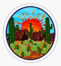 Desert Bloom Sticker
