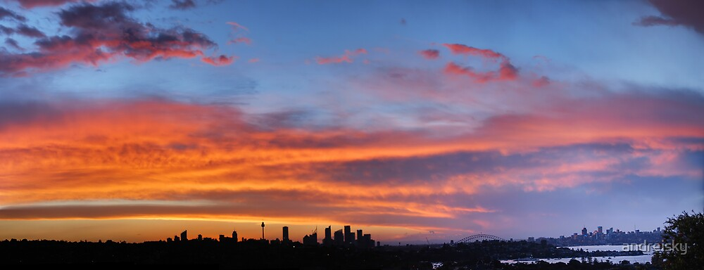 Sunset from Dover Heights by andreisky
