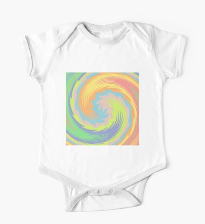 Abstract Twirl Wave Kids Clothes