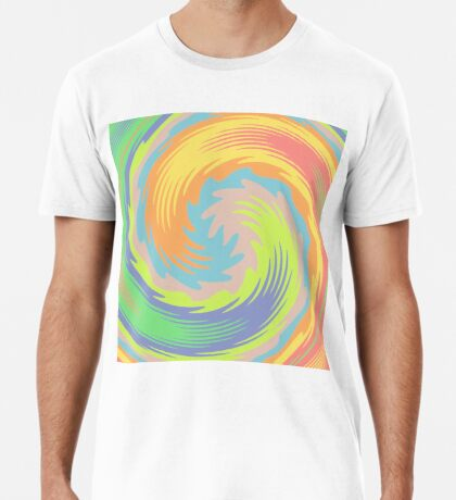 Abstract Twirl Wave Premium T-Shirt