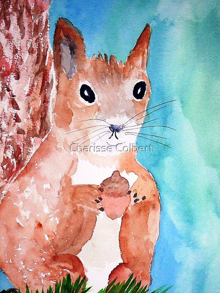 Red Squirrel by charissecolbert