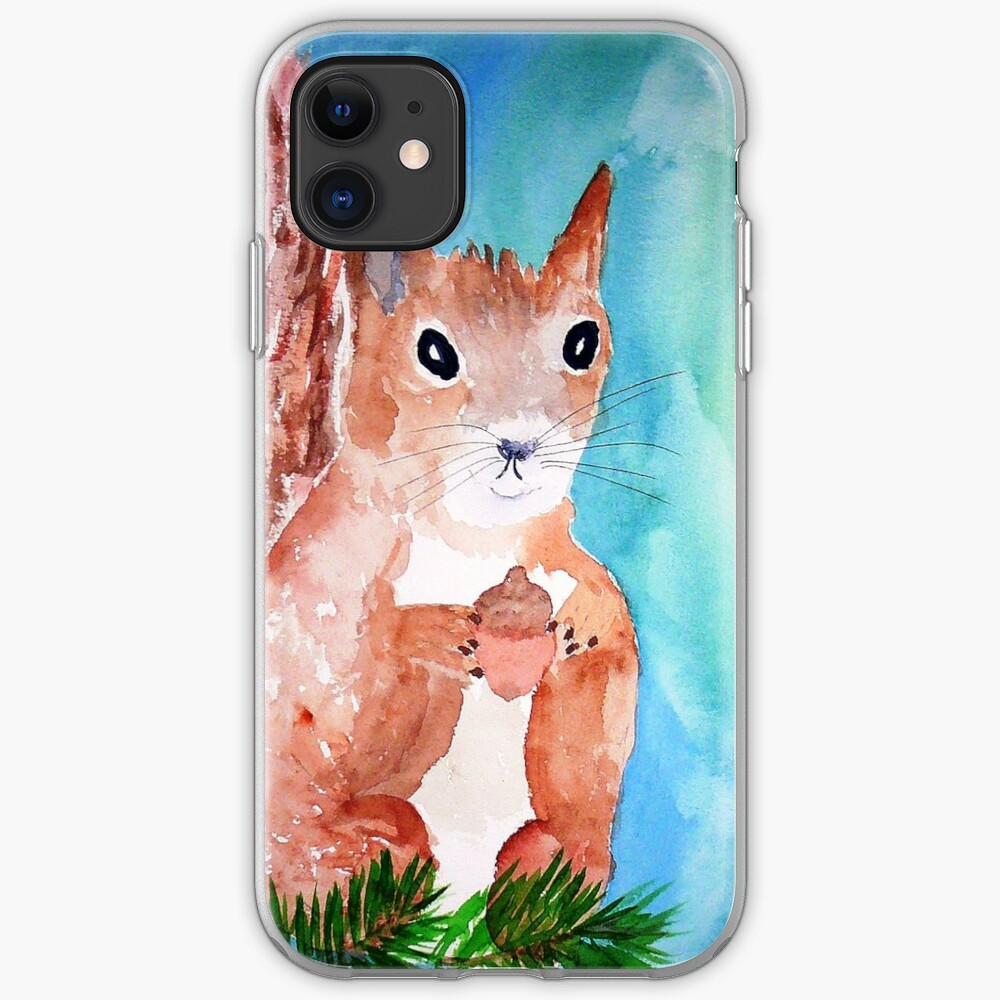 Red Squirrel iPhone Case & Cover