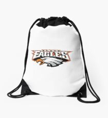 SCHS BLACK EAGLES SHIRT 001 Drawstring Bag