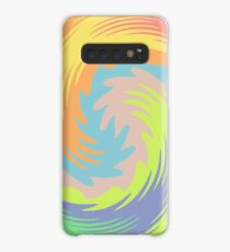 Abstract Twirl Wave Case/Skin for Samsung Galaxy