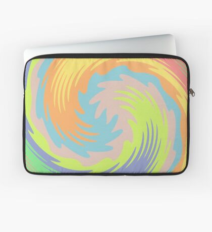 Abstract Twirl Wave Laptop Sleeve