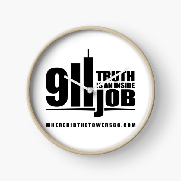 911 TRUTH is an Inside Job (CONTRIBUTOR PRICE) Clock