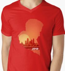 Blade runner 2049 Sunset Men's V-Neck T-Shirt