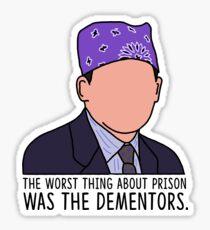 Michael Scott Dementors Sticker