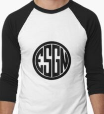 ESGNewblck Men's Baseball ¾ T-Shirt