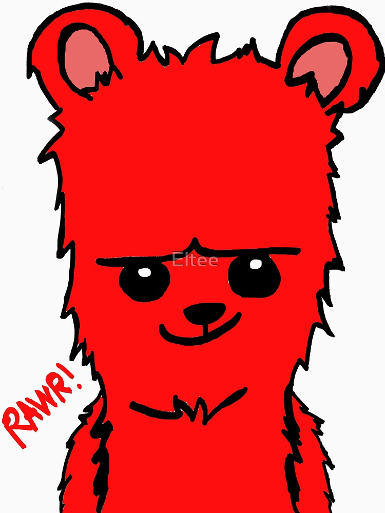 Bear! Red by Eltee