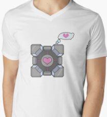 Portal Companion Cube Heartbroken T-Shirt