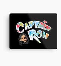 Captain Ron Metal Print