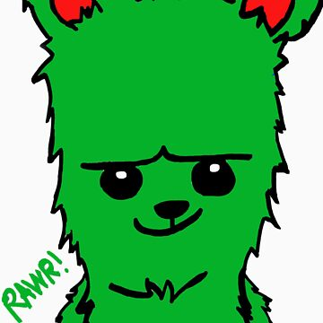 Bear! Green by Eltee