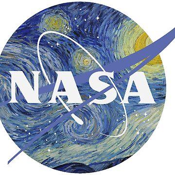 NASA - Noche estrellada de cjackvony